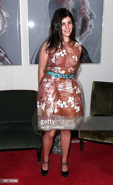 Julia RestoinRoitfeld attends the Dolce Gabbana's The One Fragrance Launch and Private Dinner at The Grammercy Park Hotel on december 4 2007 in New...