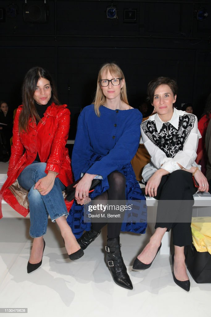 GBR: Chalayan - Front Row - LFW February 2019