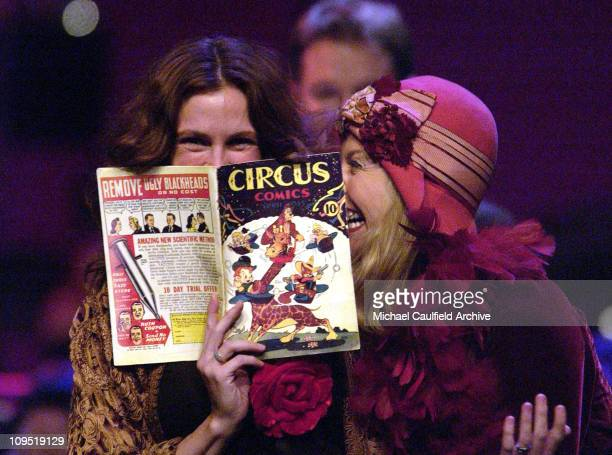 """Julia Roberts and Annette Bening during All-Star Cast Performs """"The World of Nick Adams"""" to Benefit """"The Hole in the Wall Gang"""" Camps for Children -..."""