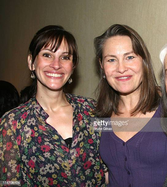 Julia Roberts and Cherry Jones