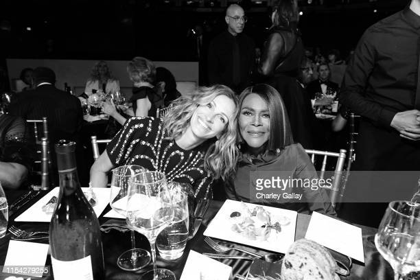 Julia Roberts and Cicely Tyson attend the 47th AFI Life Achievement Award honoring Denzel Washington at Dolby Theatre on June 06 2019 in Hollywood...