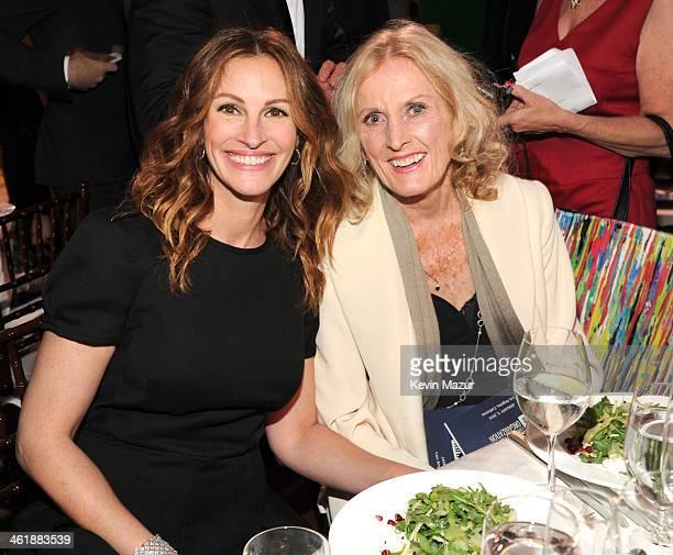 Julia Roberts and Eileen Ryan Penn attend the 3rd annual Sean Penn Friends HELP HAITI HOME Gala benefiting J/P HRO presented by Giorgio Armani at...