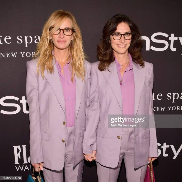 Julia Roberts and Elizabeth Stewart attend the 2018 InStyle Awards at The Getty Center on October 22 2018 in Los Angeles California