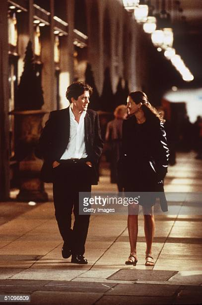 "Julia Roberts And Hugh Grant Star In The Premiere Of ""Notting Hill."""