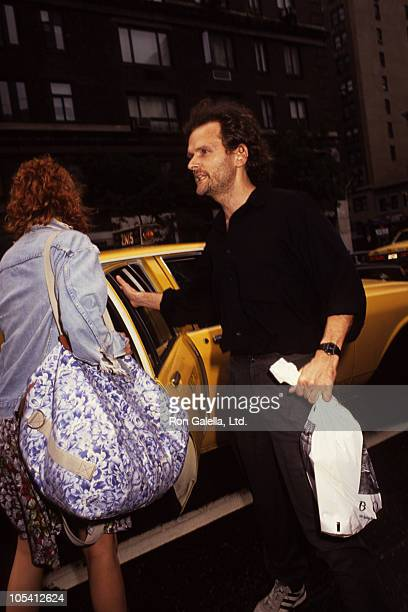 Julia Roberts and James Foley during James Foley and Julia Roberts Leaving Tiramisu Restaurant July 7 1991 at Tirami Su Restaurant in New York City...