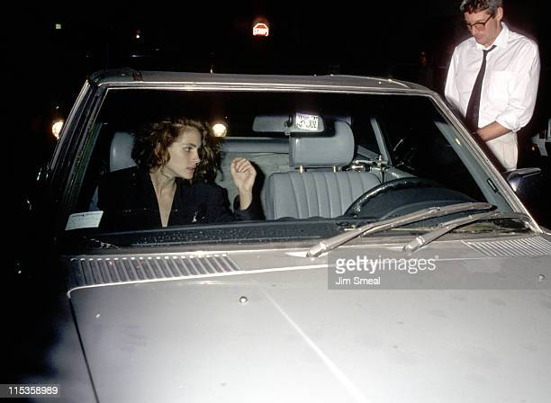 Julia Roberts and Richard Gere during 1989 Herb Ritts Birthday Party in Los Angeles California United States