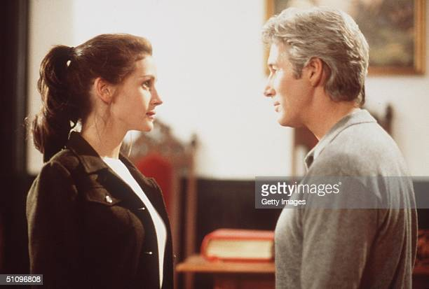 "Julia Roberts And Richard Gere In Garry Marshall's Newest Romantic Comedy, ""Runaway Bride."""
