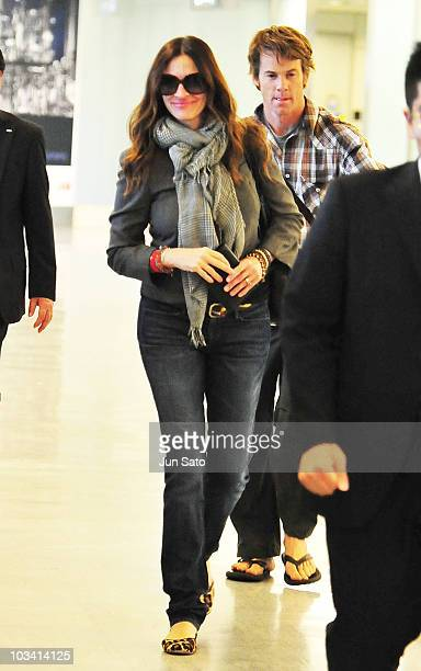 Julia Roberts arrives at Narita International Airport on August 17 2010 in Narita Japan The actress is promoting her new movie Eat Pray Love in Tokyo