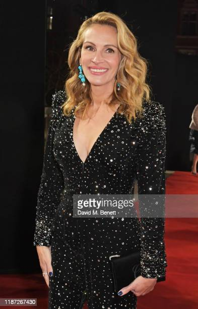 Julia Roberts arrives at The Fashion Awards 2019 held at Royal Albert Hall on December 2 2019 in London England