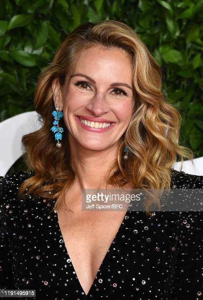 Julia Roberts arrives at The Fashion Awards 2019 held at Royal Albert Hall on December 02, 2019 in London, England.