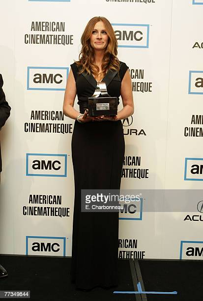 Julia Roberts at The 22nd Annual American Cinematheque Award at the Beverly Hilton Hotel on October 12 2007 in Beverly Hills California