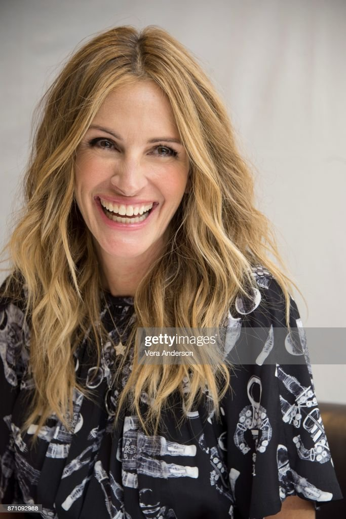 Julia Roberts at the 'Wonder' Press Conference at the Langham Hotel on November 5, 2017 in London, England.