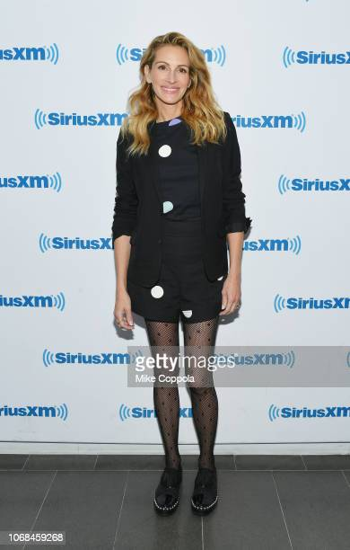 Julia Roberts attends SiriusXM's 'EW Spotlight' with Julia Roberts on December 4 2018 in New York City