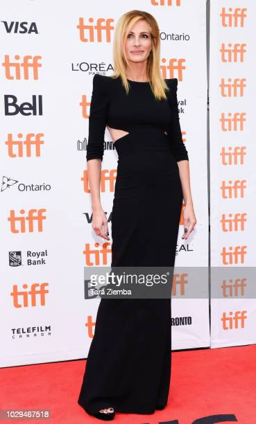 Julia Roberts attends the 2018 Toronto International Film Festival premiere of 'Ben Is Back' at Princess of Wales Theatre on September 8 2018 in...