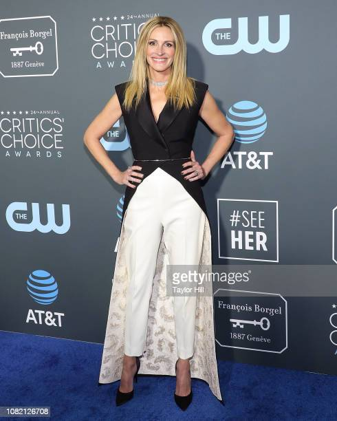 Julia Roberts attends The 24th Annual Critics' Choice Awards at Barker Hangar on January 13 2019 in Santa Monica California
