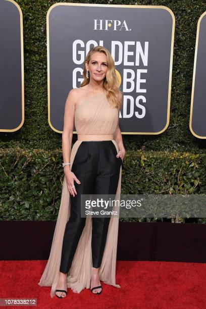 Julia Roberts attends the 76th Annual Golden Globe Awards at The Beverly Hilton Hotel on January 6 2019 in Beverly Hills California