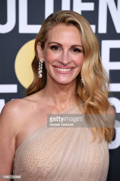 Julia Roberts attends the 76th Annual Golden Globe Awards at The Beverly Hilton Hotel on January 06 2019 in Beverly Hills California