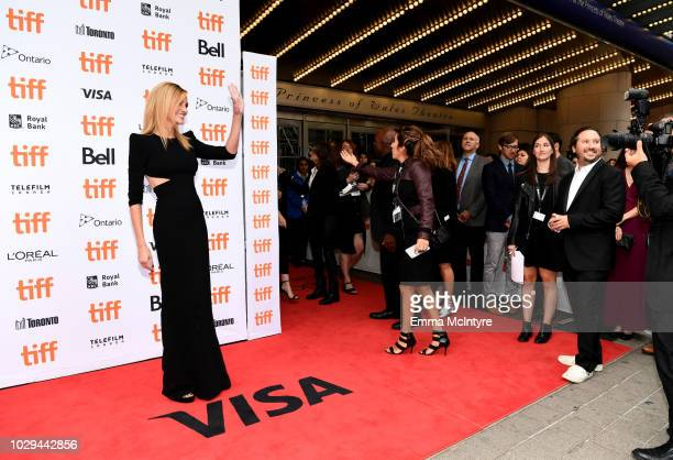 Julia Roberts attends the Ben Is Back premiere during 2018 Toronto International Film Festival at Princess of Wales Theatre on September 8 2018 in...