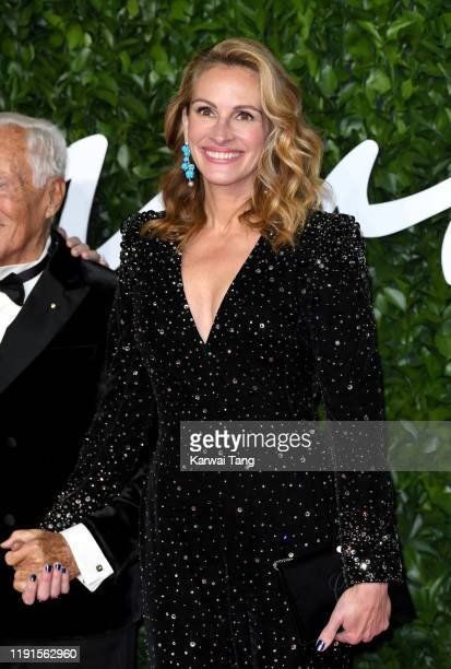 Julia Roberts attends The Fashion Awards 2019 at the Royal Albert Hall on December 02 2019 in London England