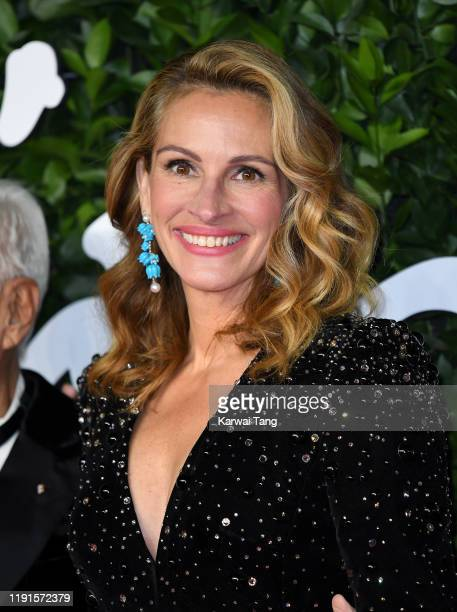 Julia Roberts attends The Fashion Awards 2019 at the Royal Albert Hall on December 02, 2019 in London, England.