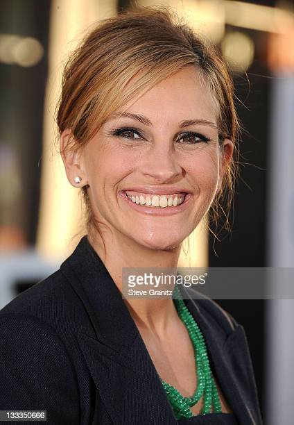 Julia Roberts attends the Larry Crowne Los Anglees Premiere at Grauman's Chinese Theatre on June 27 2011 in Hollywood California