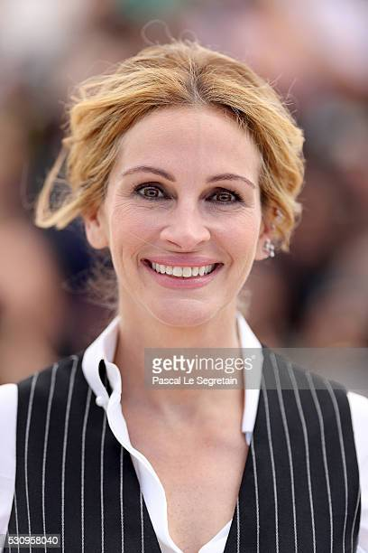 Julia Roberts attends the 'Money Monster' photocall during the 69th annual Cannes Film Festival at the Palais des Festivals on May 12 2016 in Cannes...