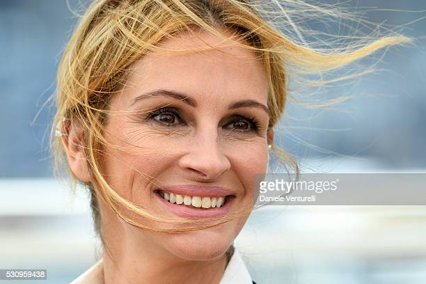 Julia Roberts attends the 'Money Monster' photocall during the 69th annual Cannes Film Festival at the Palais des Festivals on May 12 2016 in Cannes