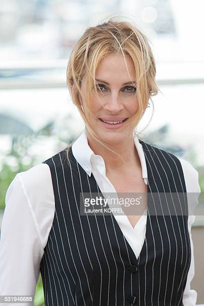 Julia Roberts attends the 'Money Monster' Photocall during the 69th annual Cannes Film Festival on May 12 2016 in Cannes France