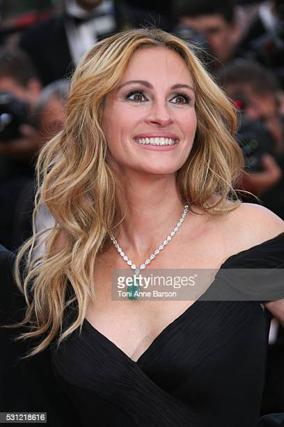Julia Roberts attends the Money Monster Premiere during the 69th annual Cannes Film Festival on May 12 2016 in Cannes France