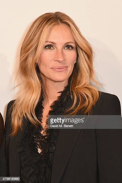 Julia Roberts attends the photocall for the Lancome Celebrates 80 Years of Beauty With All Its Ambassadresses on July 7 2015 in Paris France