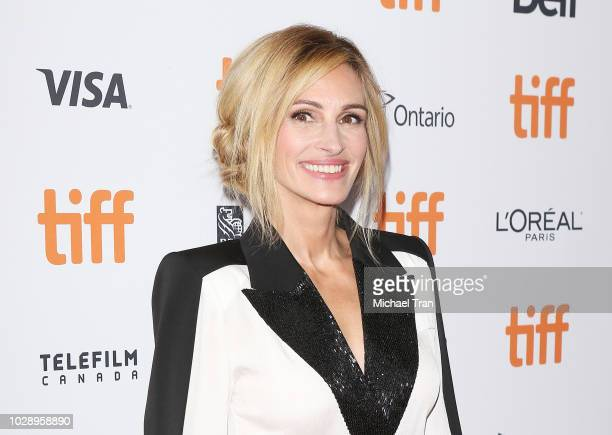 Julia Roberts attends the premiere of Homecoming during the 2018 Toronto International Film Festival held on September 7 2018 in Toronto Canada