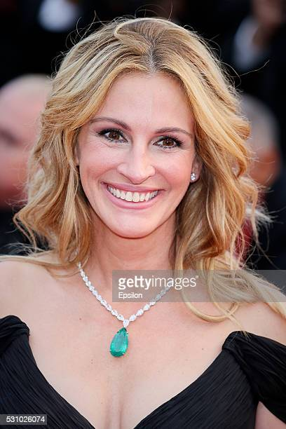 Julia Roberts attends the screening of Money Monster at the annual 69th Cannes Film Festival at Palais des Festivals on May 12 2016 in Cannes France