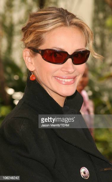 Julia Roberts during 'Charlotte's Web' Los Angeles Premiere Arrivals at ArcLight Theatre in Hollywood California United States