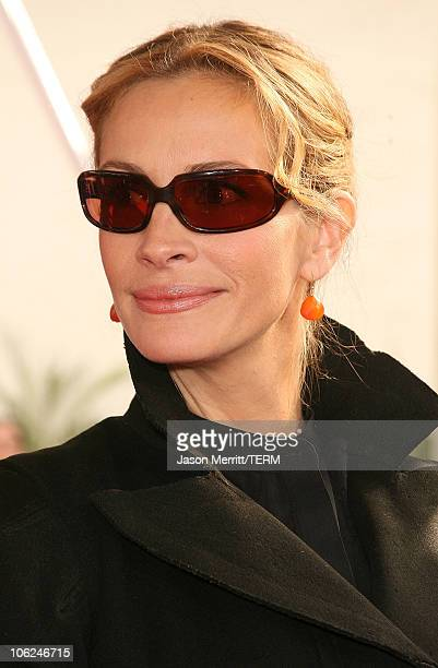 Julia Roberts during Charlotte's Web Los Angeles Premiere Arrivals at ArcLight Theatre in Hollywood California United States
