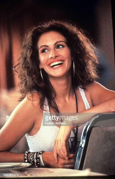 Julia Roberts in a scene from the film 'Pretty Woman', 1990.