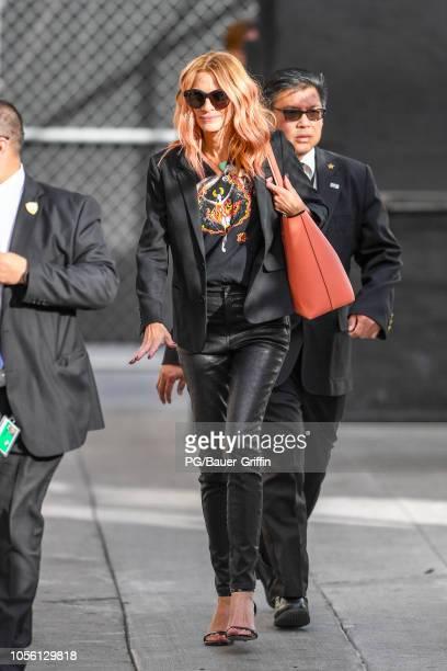 Julia Roberts is seen on Halloween on November 01 2018 in Los Angeles California