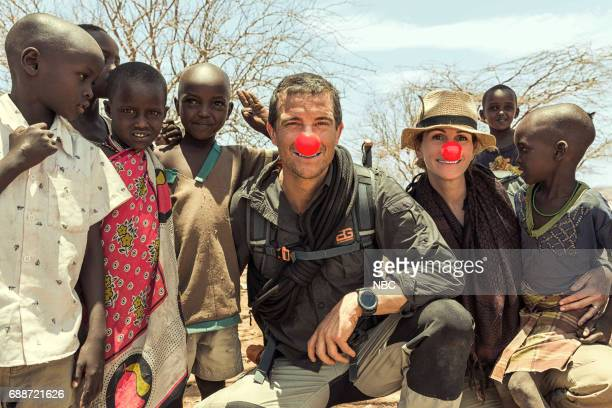 SPECIAL Julia Roberts on Running Wild With Bear Grylls Pictured Bear Grylls Julia Roberts