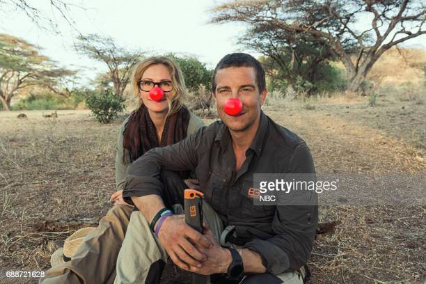 SPECIAL Julia Roberts on Running Wild With Bear Grylls Pictured Julia Roberts Bear Grylls