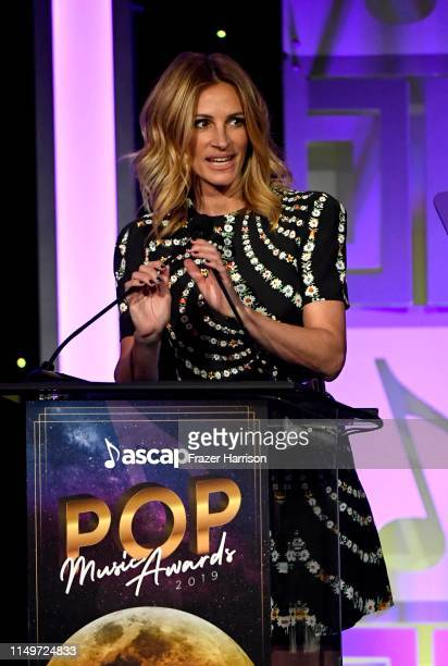 Julia Roberts speaks onstage during 36th Annual ASCAP Pop Music Awards at The Beverly Hilton Hotel on May 16 2019 in Beverly Hills California