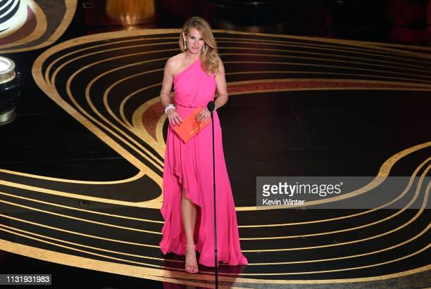 Julia Roberts speaks onstage during the 91st Annual Academy Awards at Dolby Theatre on February 24, 2019 in Hollywood, California.
