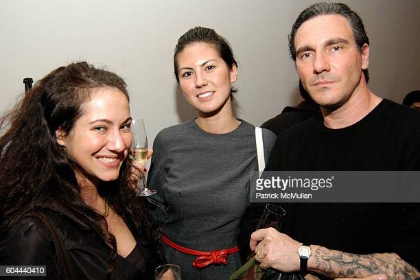 Julia Rogowski Tei Carpenter and Paolo Canevari attend IFC Films MoMA agnes b TOKION host After Party for Matthew Barney's DRAWING RESTRAINT 9 at...