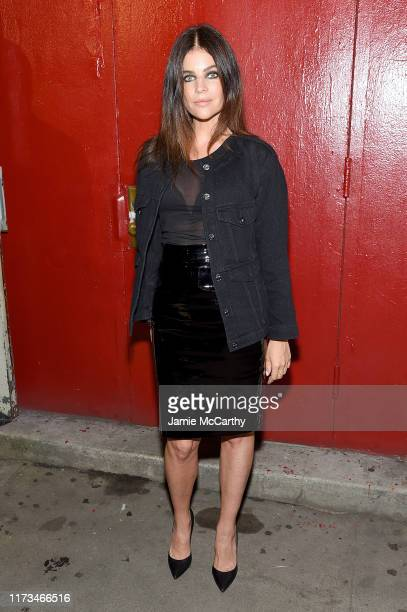 Julia Roitfeld attends the Tom Ford arrivals during New York Fashion Week on September 09, 2019 in New York City.