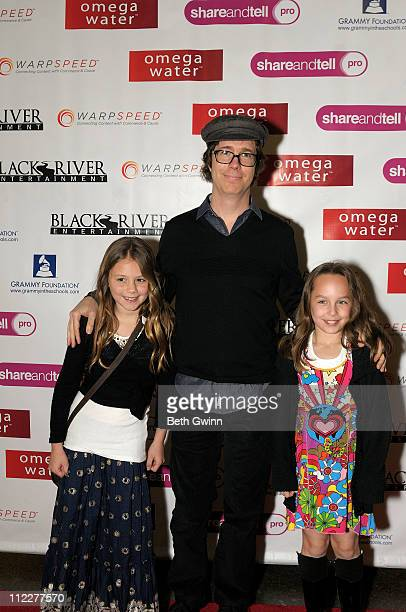 Julia Rose Folds Ben Folds and Lily Black attend a post screening party for Happy On the Ground 8 Days At GRAMMY Camp during the Nashville Film...