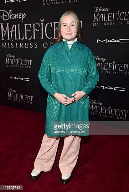 Julia Rose Lester attends the World Premiere of Disney's Maleficent Mistress of Evil at the El Capitan Theatre on September 30 2019 in Hollywood...
