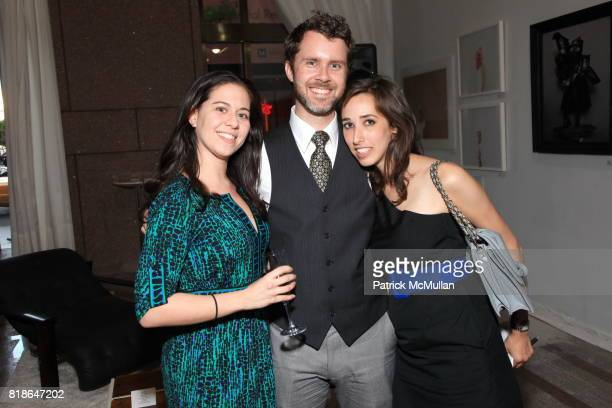 Julia Rosenfeld Jeremy Dewey and Emily Katz attend KIPTONARTCOM 5 YEAR ANNIVERSARY NYC BALLET'S Kickoff for Dance With The Dancers FINE FUTURE...