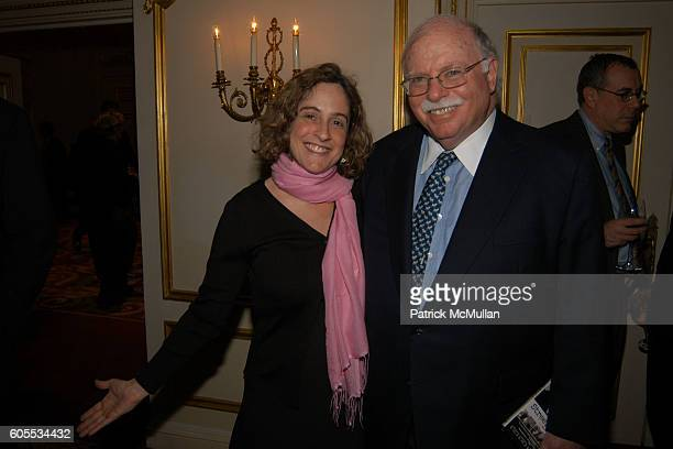 Julia Rothwax and Michael Steinhardt attend Third Annual Atlantic Monthly State of the Union Dinner hosted by Boykin Curry and Mercedes Benz at The...