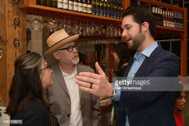 Julia Savage Adam Savage and Alexis Ohanian attend VIP Dinner For WIRED's 25th Anniversary Hosted By Nicholas Thompson And Anna Wintour at Tartine...