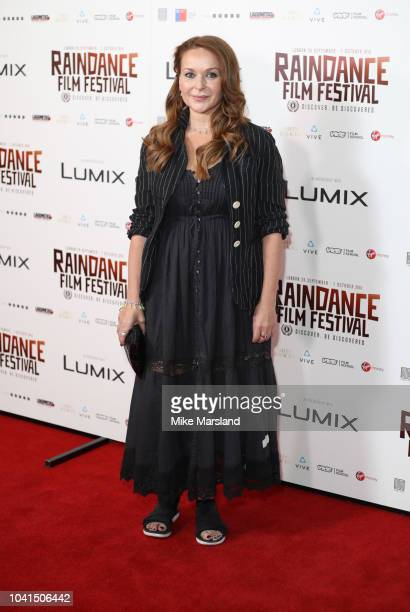 Julia Sawalha attends the Raindance Opening Gala 2018 held at Vue West End on September 26 2018 in London England