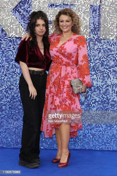 Julia Sawalha attends the Rocketman UK premiere at Odeon Luxe Leicester Square on May 20 2019 in London England
