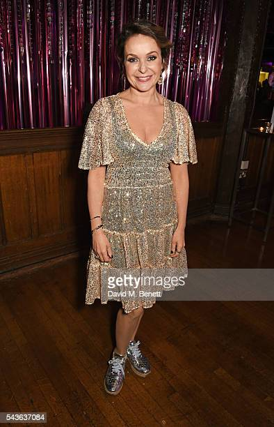 Julia Sawalha attends the World Premiere after party of Absolutely Fabulous The Movie at Liberty on June 29 2016 in London England